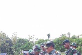 Danrem Babullah kunker di Morotai