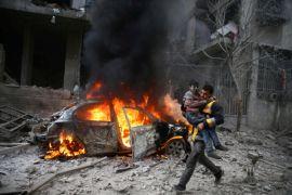 Puluhan orang tewas dalam ledakan gudang senjata Suriah