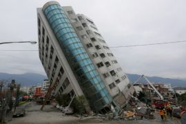 Tujuh orang meninggal dan 67 hilang setelah gempa di Taiwan