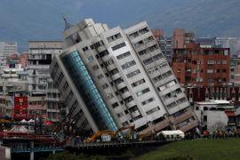 Gempa 6,1 SR guncang Taiwan timur