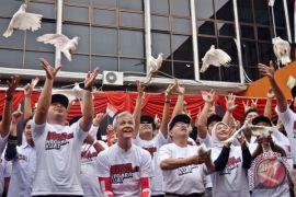 Dua pasang Cagub Jateng deklarasikan kampanye damai