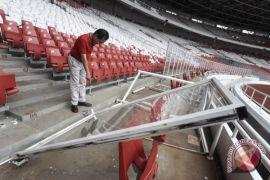 Perbaikan GBK yang rusak dibiayai dari deposit panitia Piala Presiden