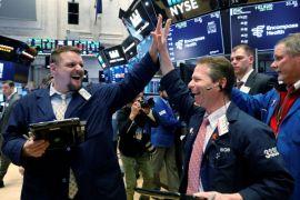 Saham teknologi bangkit, Wall Street menguat di tengah kekhawatiran perang dagang