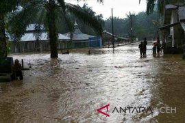 Banjir bandang landa Aceh Tamiang