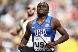 Christian Coleman juara dunia lari 100 meter