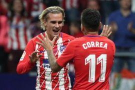 Atletico gebuk Celta 3-0, jawaban atas kekalahan di Barcelona