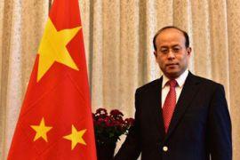 Dubes China untuk Indonesia temui Menko Polhukam