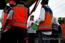 Pekerjaan Tol Elevated dilanjutkan pascalibur tahun baru