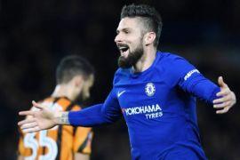 Chelsea ke perempatfinal Piala FA, Giroud cetak gol perdana