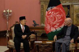 Wapres diterima Presiden Afghanistan di istana Delkussa