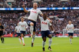 Tottenham tekuk Arsenal berkat sundulan Harry Kane