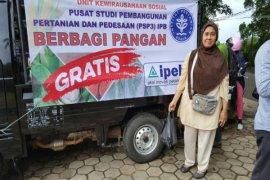 PSP3 IPB latih pemuda desa menjadi Techno Socio Entrepreneur; berbagi pangan gratis
