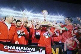 Persija banjir penghargaan di Piala Presiden