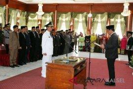 Gubernur Lantik Penjabat Bupati Tapin
