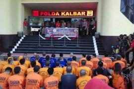 Polda Kalbar ungkap 228 kasus sepanjang operasi kapuas