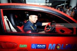 Menteri ESDM Dorong Pengembangan Bisnis Kendaraan Listrik ITS (Video)