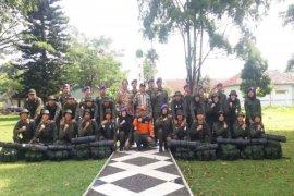 Menwa Mahawarman tempa Menwa STPP Bogor