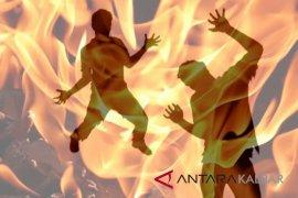 Warga Sukadana tewas saat bakar lahan