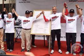 Ribuan orang Boyolali deklarasikan kemenangan Ganjar-Yasin
