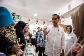 Presiden Jokowi hadiri Rakernas PDIP di tengah kunjungan kerja