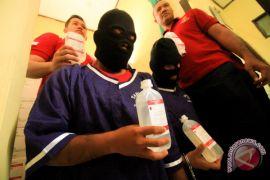 Polisi Lhokseumawe tangkap perawat curi 2.640 botol infus
