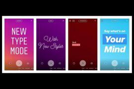Cara pakai Type Mode untuk Instagram Stories