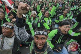 Polisi siapkan pengalihan arus kendaraan saat demo ojek online