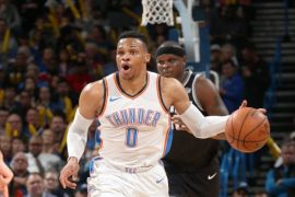 """Triple-double"" Westbrook menangkan Thunder atas Kings"
