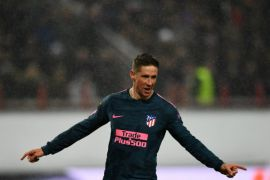 Pesta gol di Moskow, Atletico melenggang ke perempat final