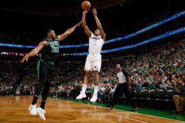 """Wizards bangkit, paksakan """"overtime"""" dan tumbangkan Celtics"""