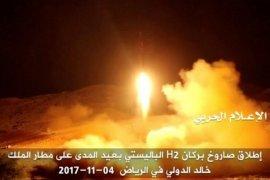 Arab Saudi cegat rudal yang ditembakkan Al-Houthi