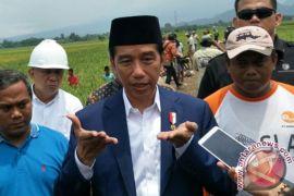 Presiden Jokowi persilakan KPK proses hukum dua menterinya