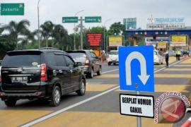 251 kendaraan nomor ganjil harus putar balik di gerbang tol Bekasi