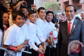 Presiden Joko Widodo tiba di Australia