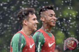 Babak pertama Indonesia ungguli Singapura 1-0