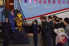 Presiden Jokowi tiba di Selandia Baru