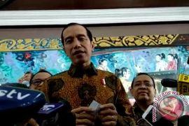 Presiden Jokowi dan Wapres Kalla hadiri raker percepatan pelaksanaan berusaha