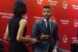 David Beckham: Sehat tak perlu mahal
