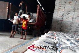 Stok beras di Penajam aman hingga lebaran