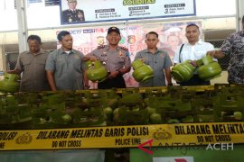 Penjual elpiji subsidi ditangkap polisi