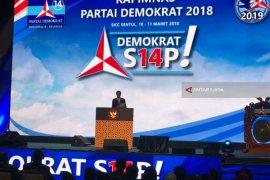 Jokowi Singgung Amandemen UUD di Sela Rapimnas Demokrat