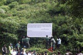 KLHK Segel Kawasan Hutan Lindung