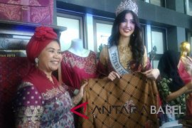 Perajin Pangkalpinang senang Putri Indonesia promosikan cual