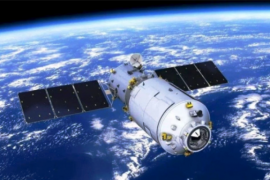 Stasiun ruang angkasa Tiangong-1 jatuh di Samudra Pasifik
