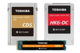 Toshiba Memory Corporation luncurkan SSD dengan 3D Flash Memory 64-Layer