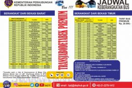 Ini jadwal bus Transjabodetabek Premium Bekasi-Jakarta