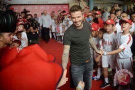 Taruhan unik Beckham dan Ibrahimovic untuk laga Inggris vs Swedia