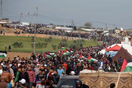 Pasukan Israel tewaskan 16 warga Palestina dalam aksi protes di Gaza
