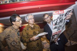 Dubes Jepang kagumi arsip foto LKBN Antara