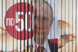 Putin unggul jauh dalam hitung cepat Pemilu Rusia